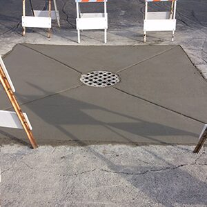 Drainage structure and storm basin repairs and maintenance for commercial properties.