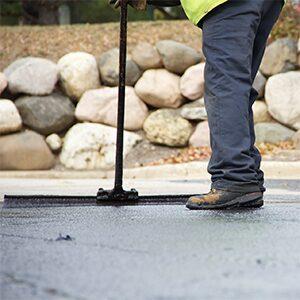 Commercial parking lot sealcoat services